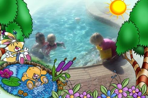 Ons het bietjie gaan swem