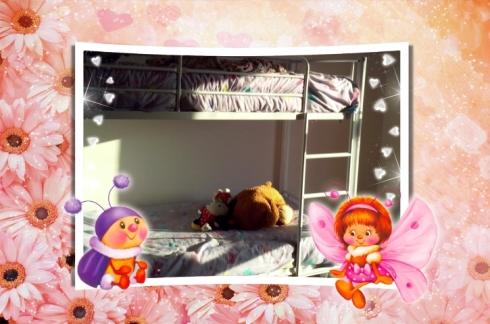 Die meisies se nuwe bed