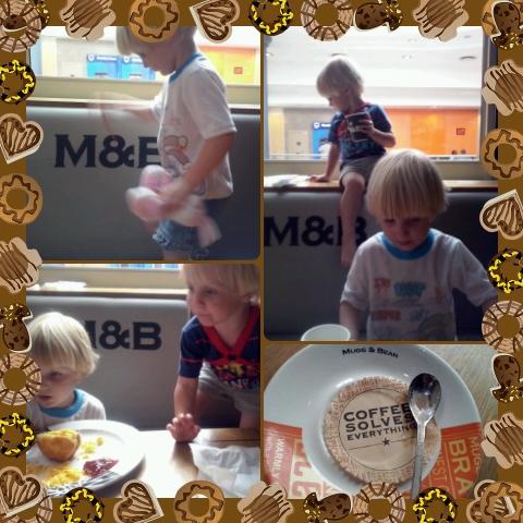 Bekkie en Lala se eerste M&B ondervinding