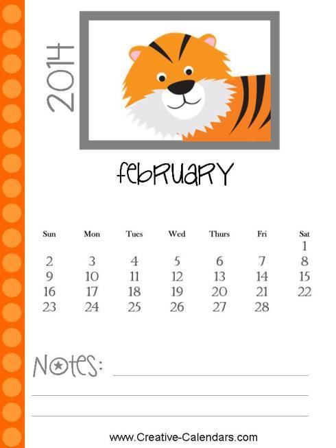 february2014calendar