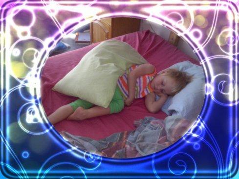 Bekkie slaap lekker