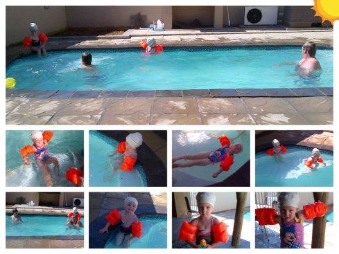 Nog swembadpret